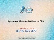 Apartment Cleaning Melbourne CBD