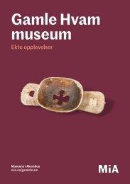 Gamle Hvam museum program 2018