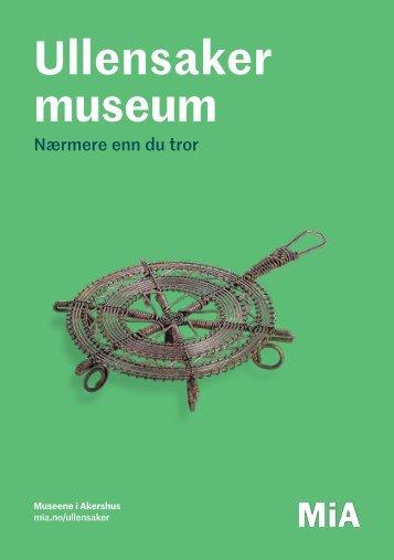 Ullensaker museum program 2018