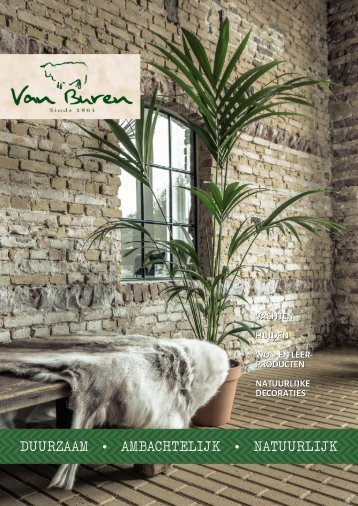 Catalogus Van Buren Bolsward BV.