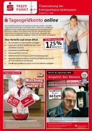 Antwort-Coupon - Kreissparkasse Gelnhausen