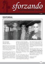 Sforzando 18-1 Homepage