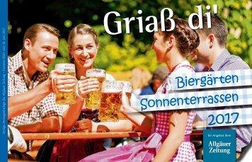 Biergärten und Sonnenterassen