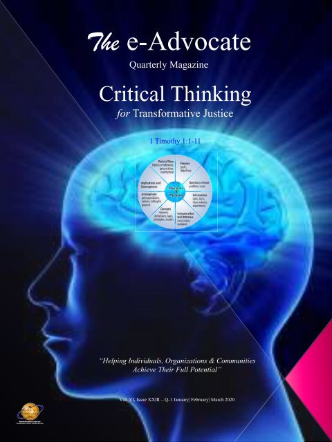 Critical Thinking for Transformative Justice