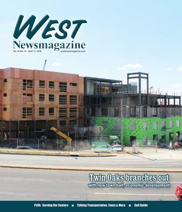 West Newsmagazine 4-11-18