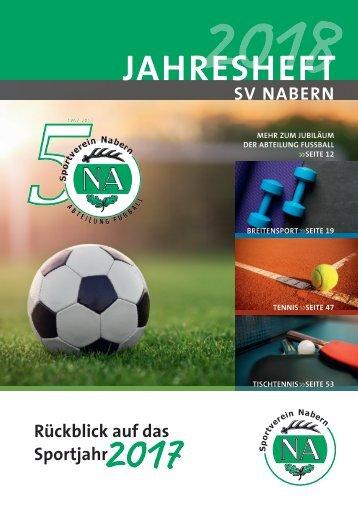 Jahresheft 2018 SV Nabern