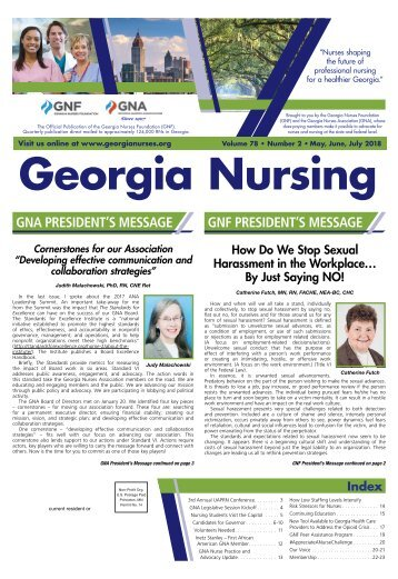 Georgia Nursing - May 2018