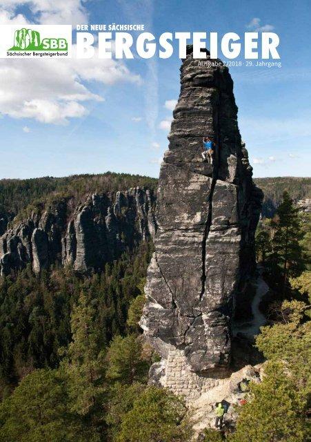 Der neue Sächsische Bergsteiger Ausgabe 01/2018