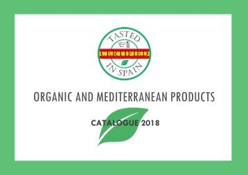 Organic and Mediterranean Products Catalogue_Tasted in Spain