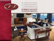 Forks Valley Woodworking 2018 Catalog