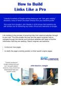 A Guide to Building Links Like a PRO!  - Page 3