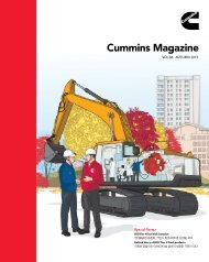 Cummins Magazine 2015 Autumn Vol 84