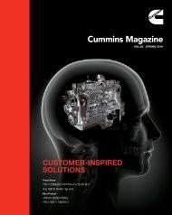 Cummins Magazine 2016 Summer Vol 85