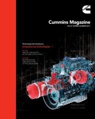 Cummins Magazine 2017 Summer Vol 87