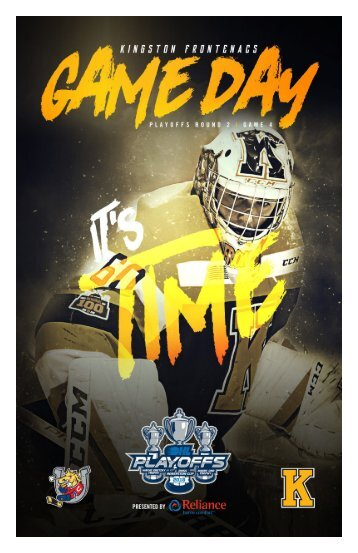 Kingston Frontenacs GameDay April 10, 2018