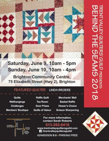 Trent Valley Quilters' Guild Poster[5548]