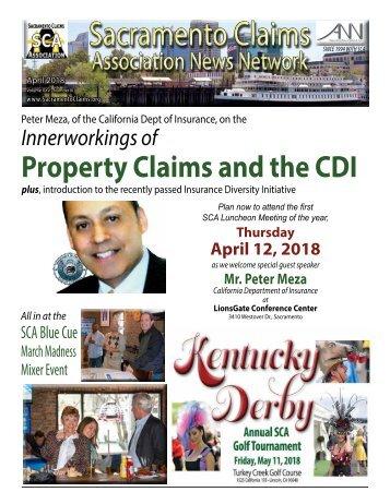 Sacramento Claims Association News Network - April 2018