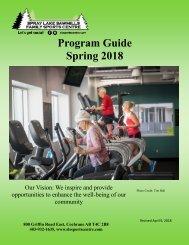 Spring 2018 Program Guide