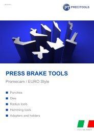 Precitools press brake tools  for Promecam (EURO) system