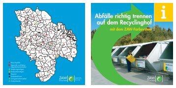 Broschüre Farbsystem - ZAW Donau-Wald