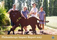 Philanthropy Impact Report 2017 - Website