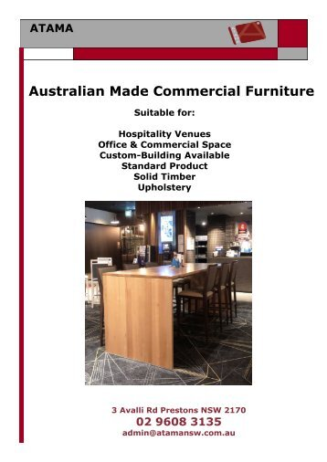 Commercial Interiors Email Leaflet