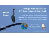 Microsoft PowerPoint - 100 Page Rancocas Creek Water Trail Guide (NXPowerLite)