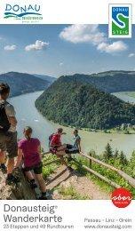 Donausteig Wanderkarte