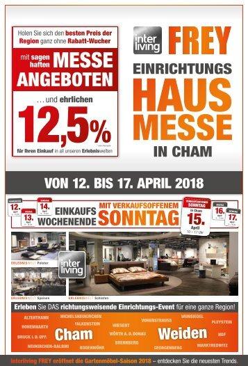 Interliving FREY - Hausmesse-Prospekt Cham
