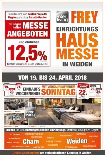 Interliving FREY - Hausmesse-Prospekt Weiden