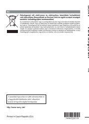 Sony HDR-UX1E - HDR-UX1E Consignes d'utilisation Hongrois