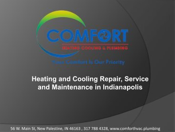 Heating and Cooling repair service and Maintenance in Indianapolis