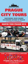 Martin Tour Prague Summer 2018
