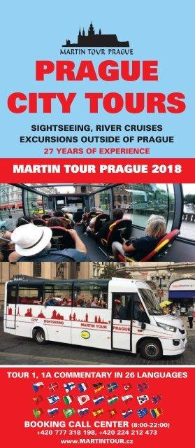 Martin Tour Prague Summer 2018
