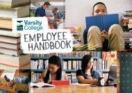 Employee Handbook Update 2018