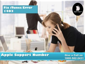 Fix iTunes Error 1403