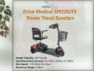 Buy Power Travel Scooters in Syracuse at Affordable Prices