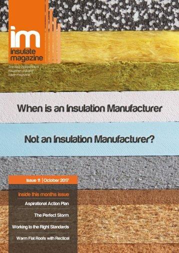 Insulate Magazine Issue 11 - October 2017