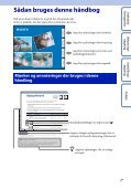 Sony HDR-AS30VR - HDR-AS30VR Guide pratique Danois - Page 2