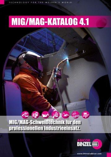 MIG/MAG-Katalog 4.1