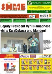 SMME NEWS - APR 2016 ISSUE