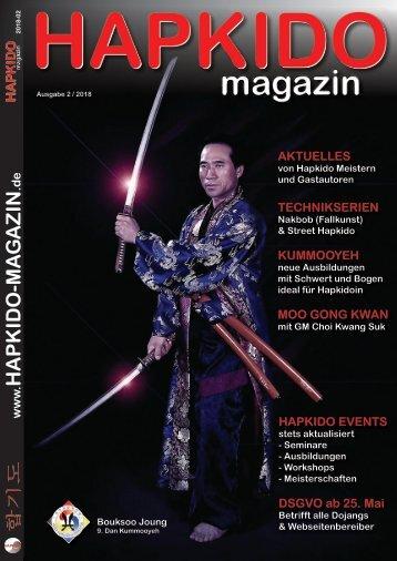 Hapkido-magazin 2018-02