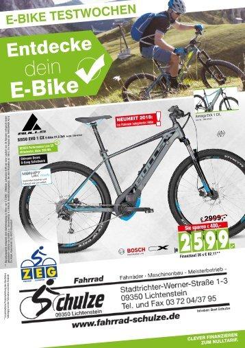 Fahrrad-Schulze - 11.04.2018