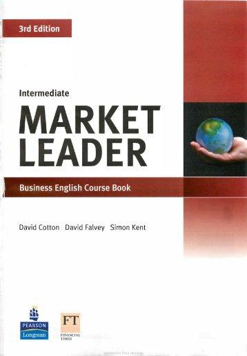 Market Leader Intermediate 3rd edition SB
