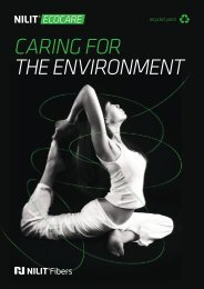 CARING FOR THE ENVIRONMENT - Nilit