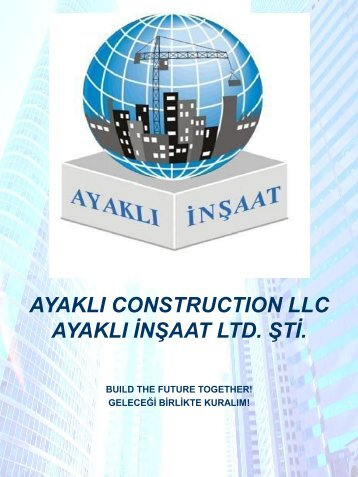 AYAKLI CONSTRUCTION TR - ENG. 2018
