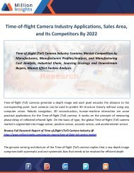 Time-of-flight Camera Industry Applications, Sales Area, and Its Competitors By 2022