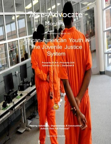 African-American Youth in The Juvenile Justice System