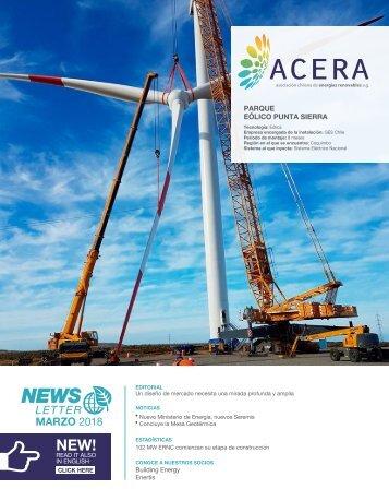 Newsletter ACERA - Marzo 2018