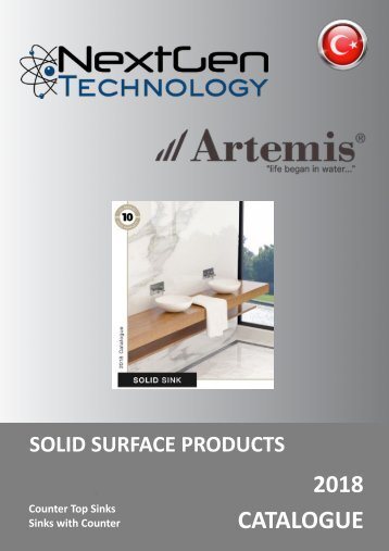 SOLID SURFACE SINKS CATALOGUE